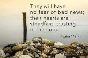 psalm 112 7 no fear