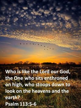 psalm 113 5
