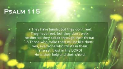 psalm 115 other gods