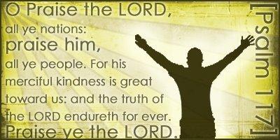 psalm 117 praise