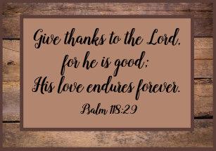 psalm 118 29