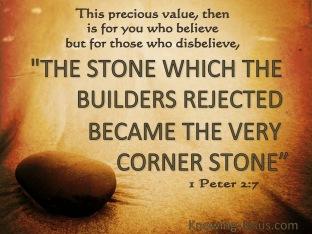 psalm 118 corner stone