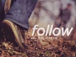 psalm 119 follow
