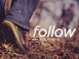 psalm 119 follow