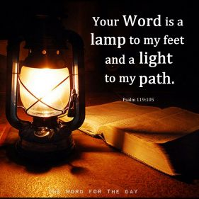 psalm 119 light to me