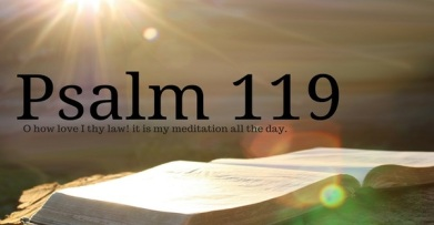 psalm 119 love of word