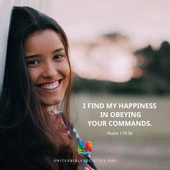 psalm 119 smile