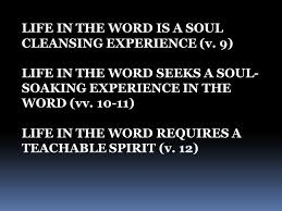 psalm 119 teachable spirit