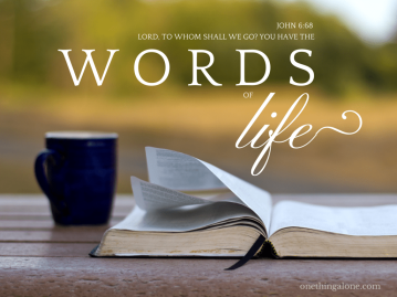 psalm 119 words of life