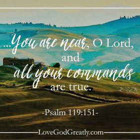 Psalm 119 151