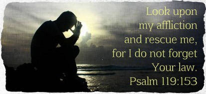 Psalm 119 153 look