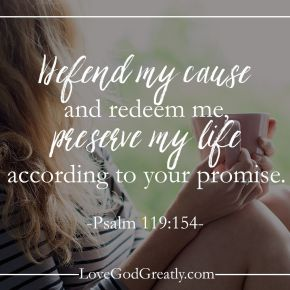 Psalm 119 154
