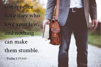 Psalm 119 165 not kjv