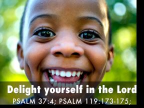 Psalm 119 174 delight