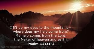 Psalm 121 help
