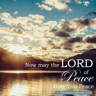 Psalm 122 God is peace