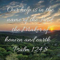 Psalm 124 8
