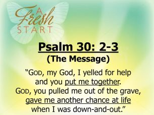 Psalm 130 God