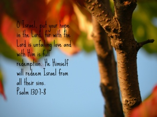Psalm 130 redeem