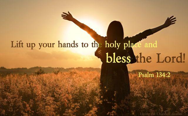 Psalm 134 bless