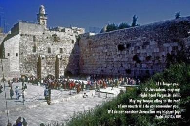 Psalm 137 remember Jerusalem