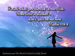Psalm 138 finish