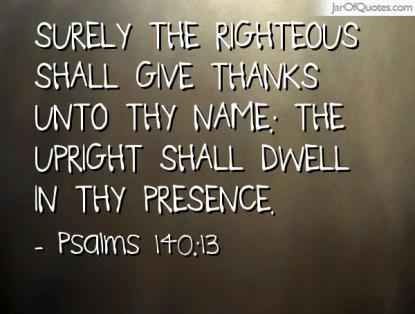 Psalm 140 13
