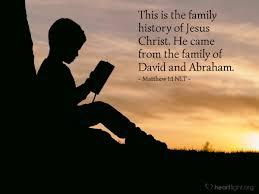 Matthew 1 family