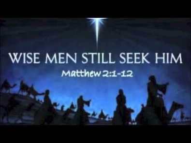 Matthew 2 wise
