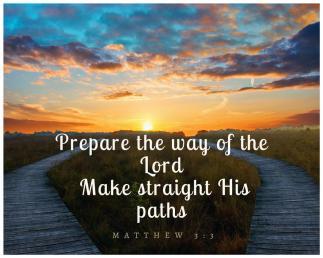 Matthew 3 3