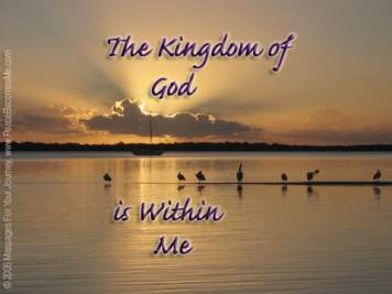 Matthew 3 Kingdom of God