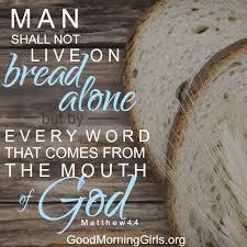 Matthew 4 bread