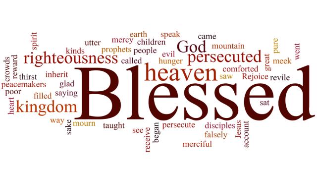 Matthew 5 blessed