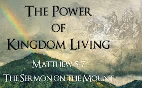 Matthew 5 Kingdom Living