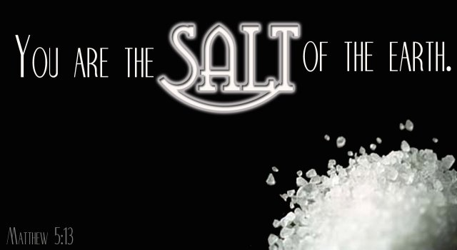 Matthew 5 salt of the earth