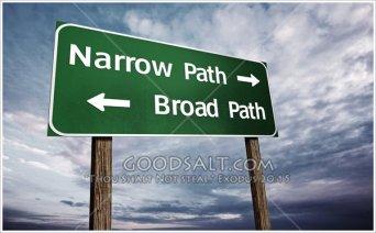 Matthew 7 narrow