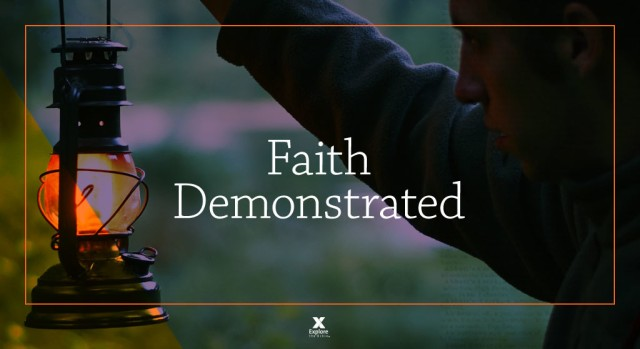 Matthew 8 faith demostrated