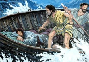 Matthew 8 Jesus sleeps