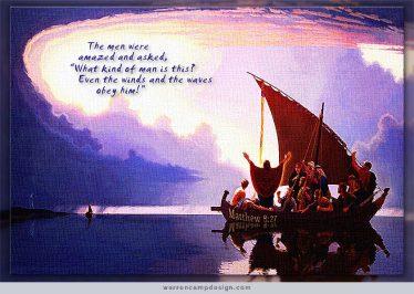 Matthew 8 obey Him