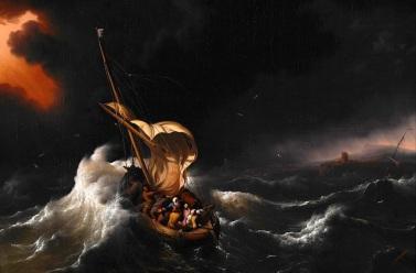 Matthew 8 rough waters