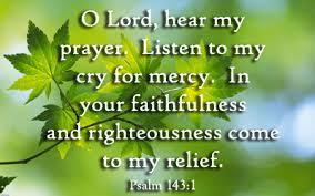 Psalm 143 1