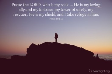 Psalm 144 rescuer
