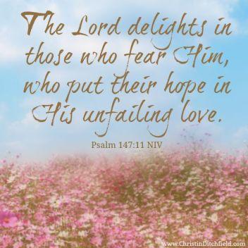 Psalm 147 11