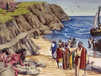 Matthew 8 demons