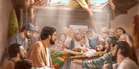 Matthew 9 healing