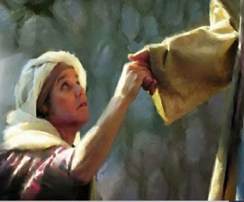 Matthew 15 woman with Jesus