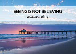 Matthew 16 believe