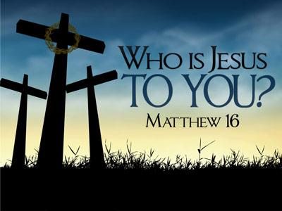 Matthew 16 who to you