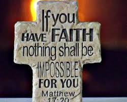 Matthew 17 faith can