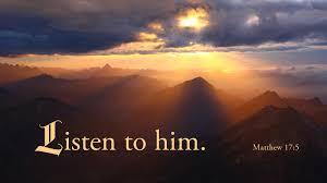 Matthew 17, Listen